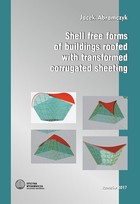 Shell free forms of buildings roofed with transformed corrugated sheeting - pdf - Jacek Abramczyk