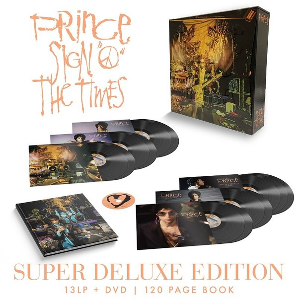 Sign O` The Times (Remastered) (vinyl) (Super Deluxe Edition)