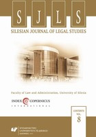 Silesian Journal of Legal Studies. Vol. 8 - 11 Some Remarks on the Concept of Sovereignty and the Extraterritorial Application of Human Rights Treaties - pdf