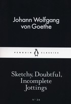 Sketchy Doubtful Incomplete Jottings - Johann Wolfgang von Goethe