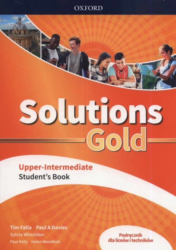 Solutions Gold Upper-Intermediate. Student`s Book Podręcznik