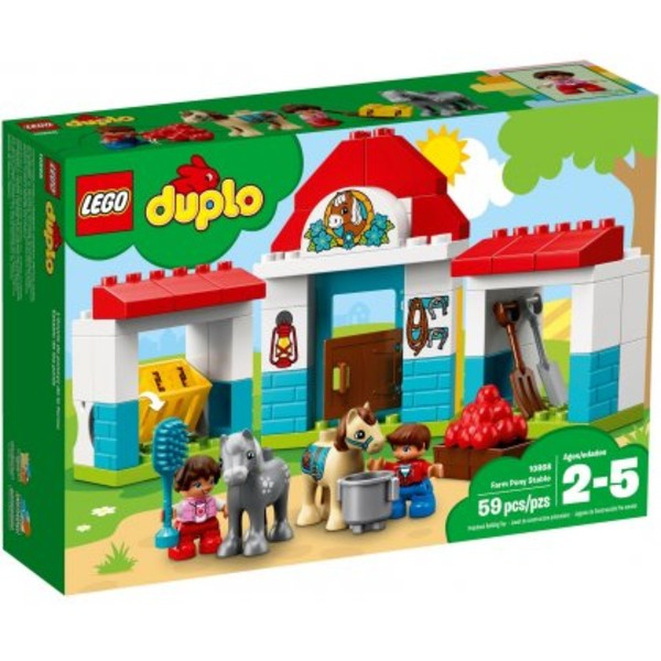 Lego Duplo Stajnia Z Kucykami 10868 10997zł W Gandalfcompl
