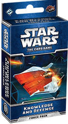 FFG Star Wars LCG - Knowledge and Defense Third Force Pack from Echoes of the Force Cycle - Wersja Angielska