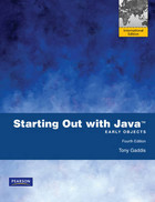 Starting Out with Java: International Version - Tony Gaddis