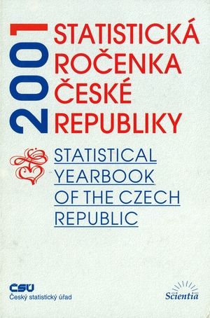 Statistical Yearbook of the Czech Republic 2001