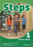 Steps In English 1 Student`s Book / Exam Steps in English 1 Ćwiczenia - Paul Shipton, Paul A. Davies, Sylvia Wheeldon, Magdalena Szpotowicz, Tim Falla, Ewa Palczak