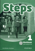 Steps in English 1. Workbook Zeszyt ćwiczeń + CD - Paul Shipton, Paul A. Davies, Sylvia Wheeldon, Magdalena Szpotowicz, Tim Falla, Ewa Palczak