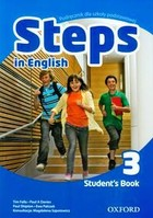Steps In English 3. Student`s book Podręcznik + kod do ćwiczeń online - Paul Shipton, Paul A. Davies, Tim Falla, Ewa Palczak