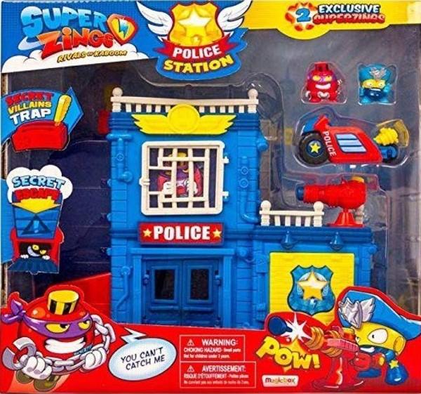 Superzings Posterunek Policji 9935zł Zabawki W Gandalfcompl