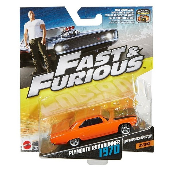 Hot Wheels Szybcy i wściekli 1970 Plymouth Roadrunner FCF37