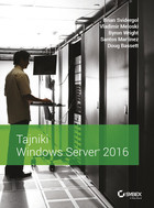 Tajniki Windows Server 2016 - Brian Svidergol, Vladimir Meloski, Byron Wright, Santos Martinez, Doug Bassett