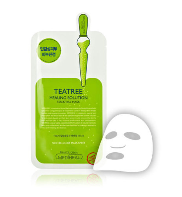 Teatree Care Solution Essential Mask EX Esencjonalna maska kojąca do twarzy