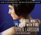 The Girl Who Played with Fire on CD - Stieg Larsson