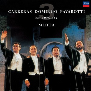 Three Tenors In Concert Rome 1990 (vinyl)