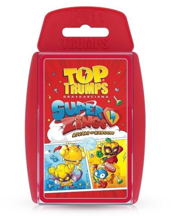Gra Top Trumps Super Zings