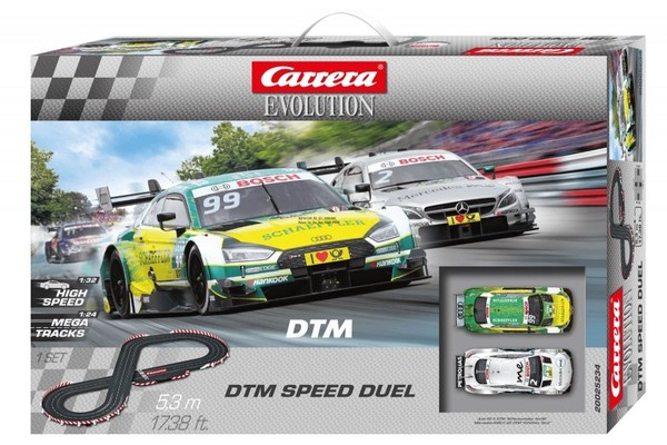 Carrera Evolution Tor wyścigowy Evolution DTM Speed Duel 1:24