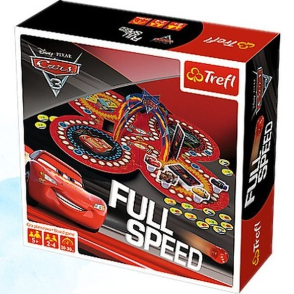 Trefl Gra Full Speed Auta 3