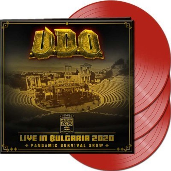 Live in Bulgaria 2020 Pandemic Survival Show Red (vinyl)
