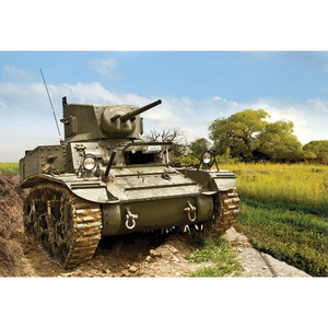US Light Tank M3A1 `Stuart` Skala 1:100