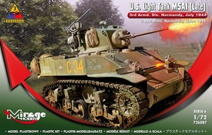 U.S. Light Tank M5A1 (late) Skala 1:72
