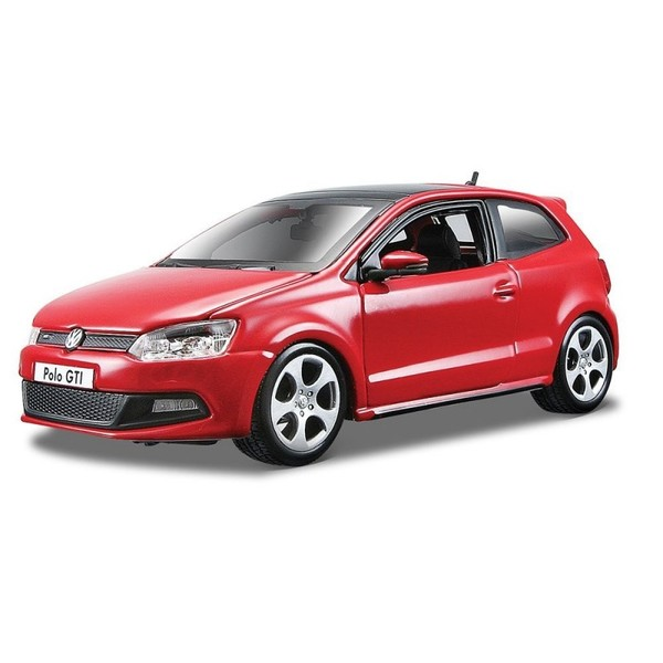 VW Polo GTI Mark 5 (mix kolorów) Skala 1:24