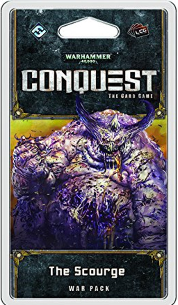 FFG Warhammer 40,000 Conquest LCG: The Scourge Second Warpack from Warpack Cycle - Wersja Angielska