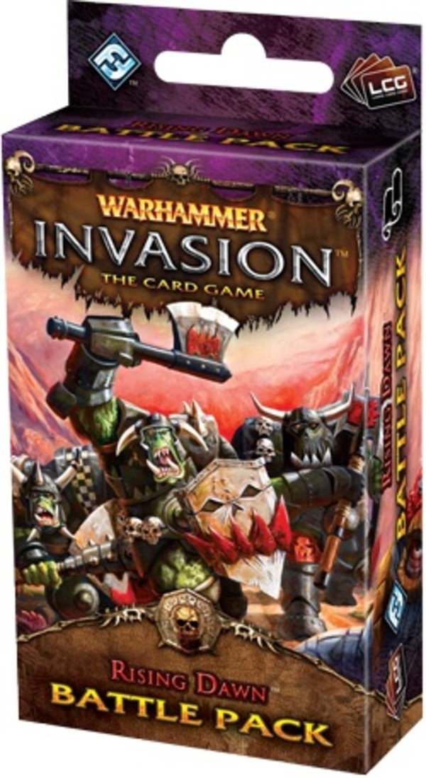 FFG Warhammer Invasion LCG: Rising Dawn First battle pack from Bloodquest Cycle - Wersja Angielska