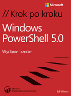 Windows PowerShell 5.0 - Ed Wilson