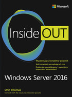Inside Out Windows Server 2016 - Thomas Orin