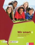 Wir smart 4. Podręcznik do języka niemieckiego szkoły podstawowej + CD