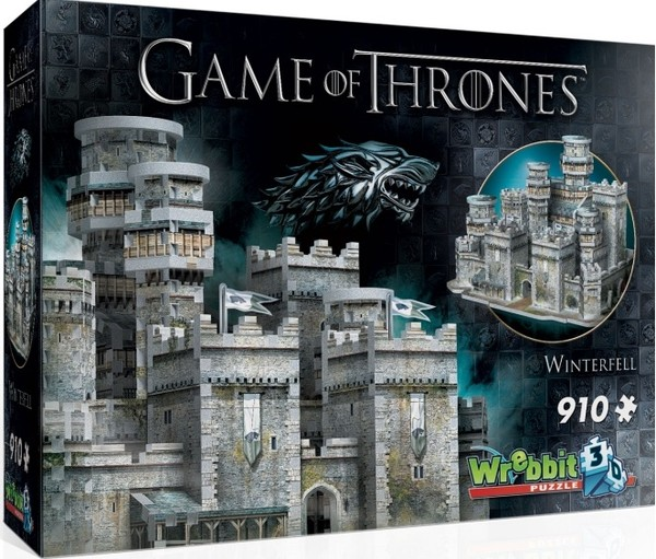 Wrebbit Puzzle 3D Game of Thrones - Winterfell