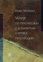 WSTĘP DO PSYCHOLOGII Z ELEMENTAMI HISTORII PSYCHOLOGII