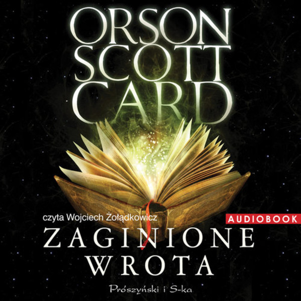 Zaginione wrota audiobook CD