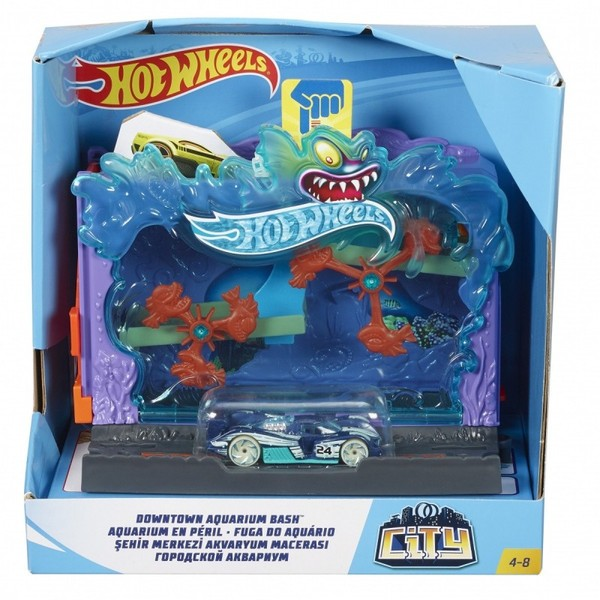 Hot Wheels City Zestaw Aquarium FRH32